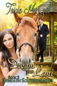 A Dream For Lani Beneath Southern Skies, Book 2  Cosseted all her life, Lani Moore inherits a fortune, but yearns for a loving family. The chance to grab that arrives when two youngsters talk her into taking a flat in their house. Their father, Ryan, is enchanted by the air of intriguing melancholy about his new tenant. Will Lani's lonely heart find the love she wants above all else?